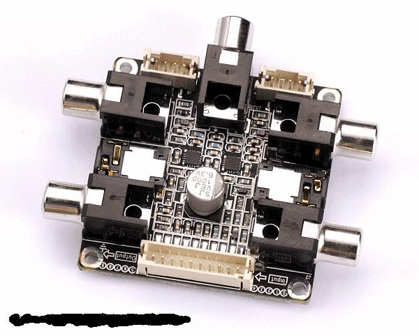 RCA- Interface für Wondom DSP