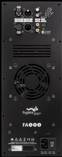 Hypex FusionAmp FA502 Front