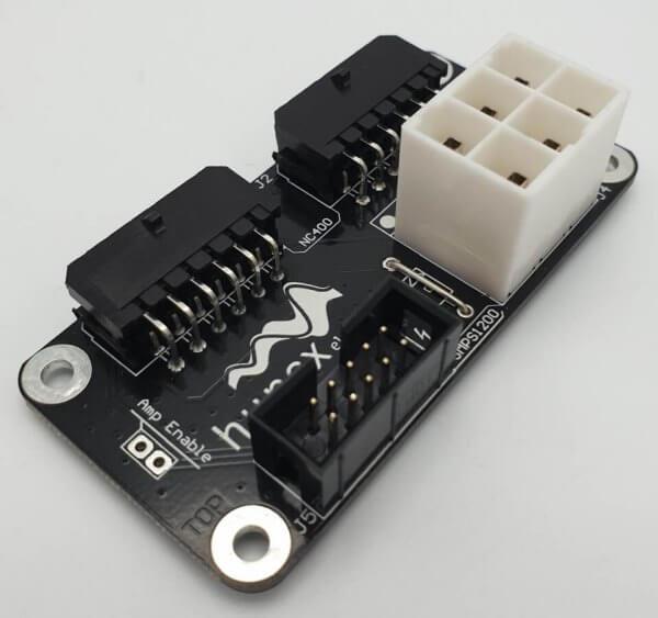 Hypex SMPS1200A400 an 2x NC400 Anschluss Set