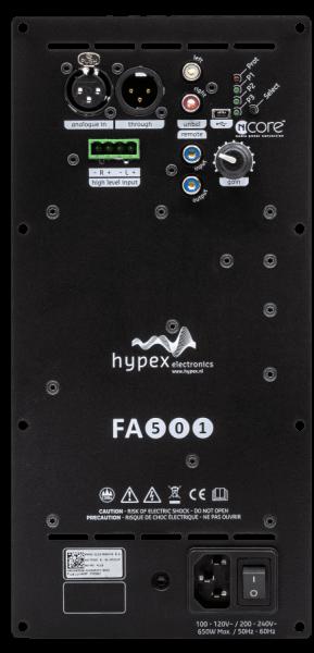 Hypex FusionAmp FA501 Front