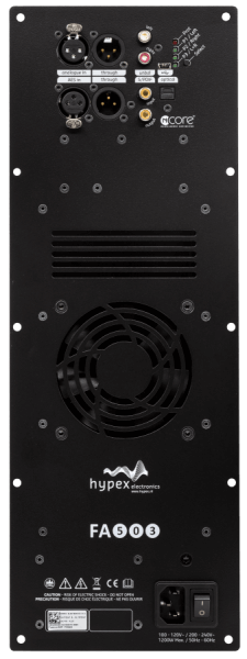 Hypex FusionAmp FA503 Front