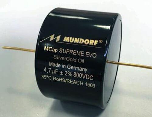 MCap SUPREME EVO Silber.Gold